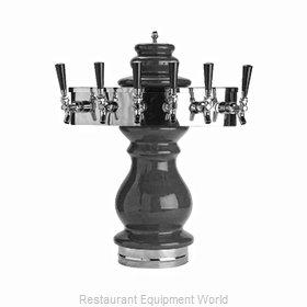 Glastender BET-5-MF-BK Draft Beer / Wine Dispensing Tower