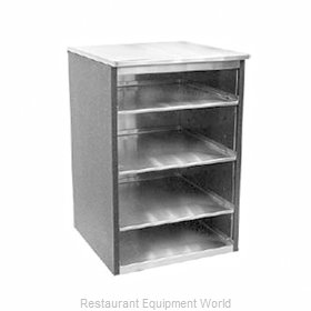 Glastender BGS-18 Backbar Cabinet Non-Refrigerated Stationary