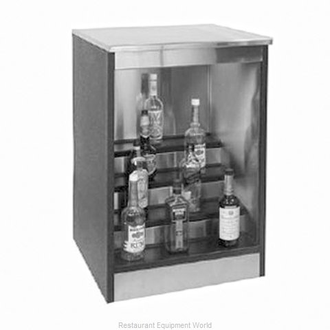 Glastender BLD-30-S Back Bar Liquor Display
