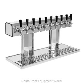 Glastender BT-10-PB Draft Beer / Wine Dispensing Tower