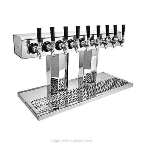 Glastender BT-12-SS-LD Draft Beer / Wine Dispensing Tower (Magnified)