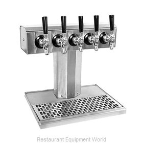 Glastender BT-5-SS-LD Draft Beer / Wine Dispensing Tower