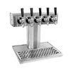 Glastender BT-5-SS Draft Beer / Wine Dispensing Tower
