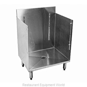 Glastender C-GRB-18 Underbar Glass Rack Storage Unit