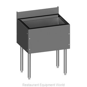 Glastender C-IBB-42-CP10 Underbar Ice Bin/Cocktail Unit