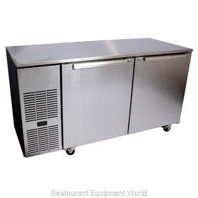 Glastender C1FU52 Refrigerator, Undercounter, Reach-In
