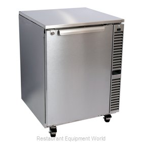 Glastender C1SU24 Refrigerator, Undercounter, Reach-In