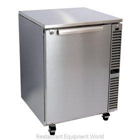 Glastender C1SU48 Refrigerator, Undercounter, Reach-In