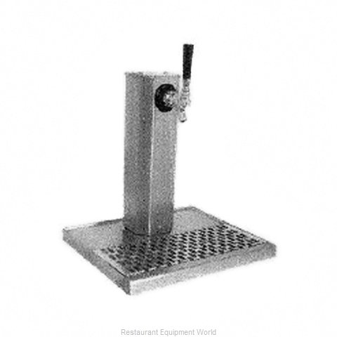 Glastender CT-1-SSR-LD Draft Beer Dispensing Tower Head Unit (Magnified)