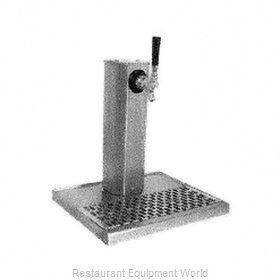 Glastender CT-1-SSR-LD Draft Beer Dispensing Tower Head Unit