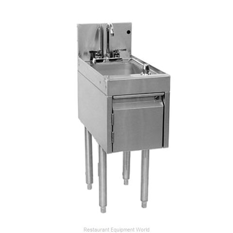 Glastender DHSB-12 Underbar Hand Sink Unit (Magnified)