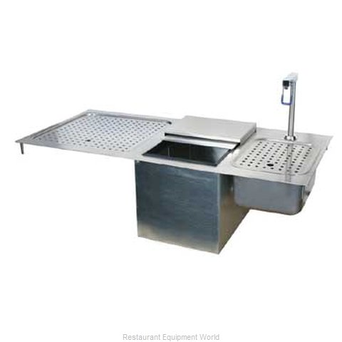 Glastender DI-DIW42 Ice Water Unit Drop-In