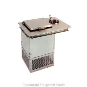 Glastender DI-FR-DW Ice Cream Dipping Cabinet Drop-In