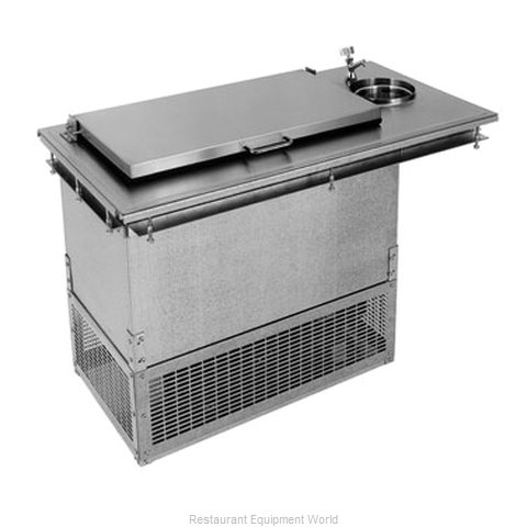 Glastender DI-FR36-DW-FL Ice Cream Dipping Cabinet, Drop-In
