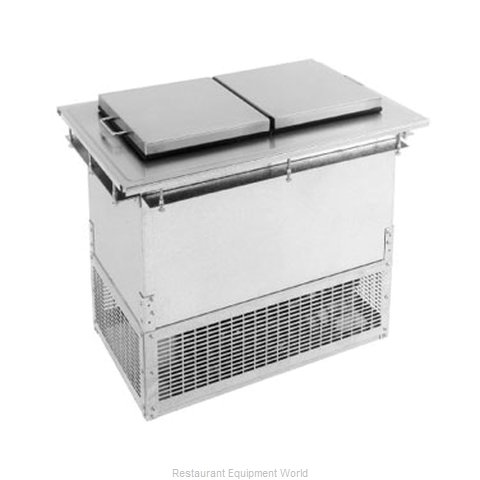Glastender DI-FR36-FL Ice Cream Dipping Cabinet, Drop-In