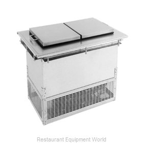 Glastender DI-FR36-FL Ice Cream Dipping Cabinet Drop-In