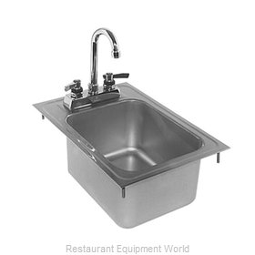 Glastender DI-HS12-LF Drop-In Sink
