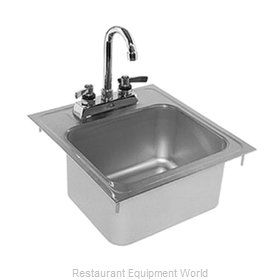 Glastender DI-HS14-LF Drop-In Sink