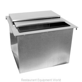 Glastender DI-IB18 Ice Bin, Drop-In