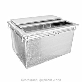 Glastender DI-IB24 Ice Bin, Drop-In