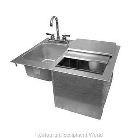 Glastender DI-IS24-LF Ice & Water Unit, Drop-In