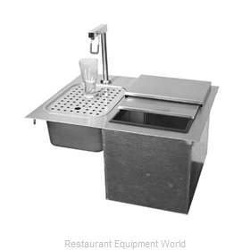 Glastender DI-IW24 Ice & Water Unit, Drop-In