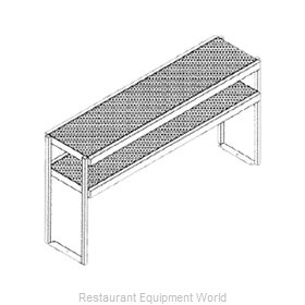 Glastender DOS/SS-48 Overshelf, Table-Mounted