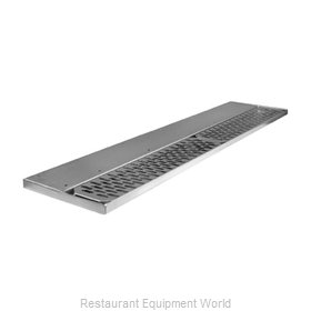 Glastender DR-48L Drip Tray Trough Beverage