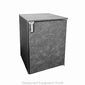 Glastender DS24-N-N Backbar Cabinet Non-Refrigerated Stationary