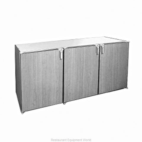 Glastender DS72-N-N Back Bar Cabinet, Non-Refrigerated (Magnified)