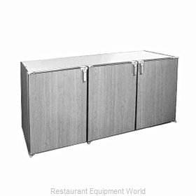 Glastender DS72-N-N Backbar Cabinet Non-Refrigerated Stationary