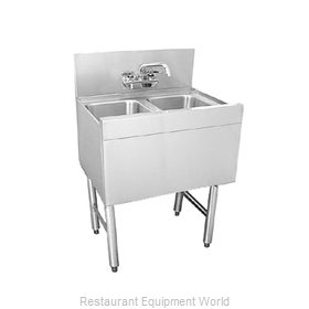 Glastender DSA-24-S Underbar Sink Units