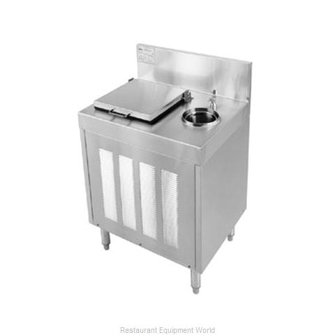 Glastender FRA-24 Underbar Ice Cream Dipping Cabinet (Magnified)
