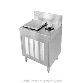 Glastender FRA-24 Underbar Ice Cream Dipping Cabinet