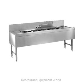 Glastender FSA-48-S Underbar Sink Units