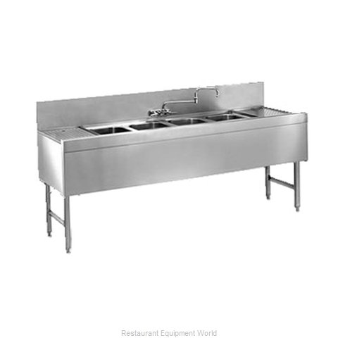 Glastender FSB-84-S Underbar Sink Units (Magnified)