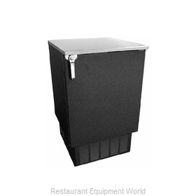 Glastender FV24-O Backbar Cabinet Refrigerated