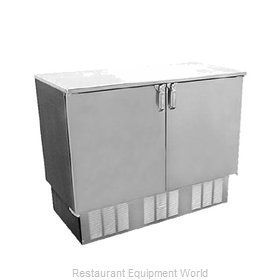 Glastender FV48-(LR)-O Backbar Cabinet Refrigerated