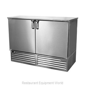 Glastender FV48 Back Bar Cabinet, Refrigerated
