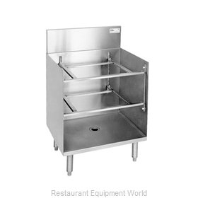 Glastender GRA-24 Underbar Glass Rack Storage Unit