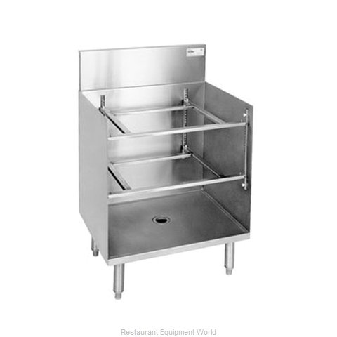 Glastender GRB-24 Underbar Glass Rack Storage Unit