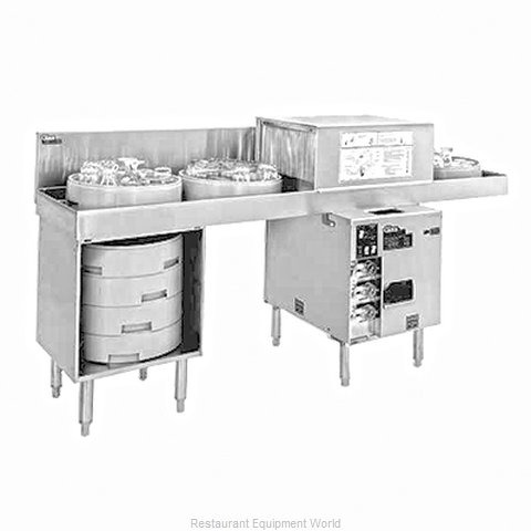 Glastender GT-18+2-78R Glass Washer Underbar Type