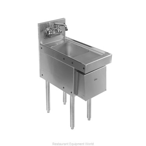 Glastender HSB-12-AD Underbar Hand Sink Unit (Magnified)
