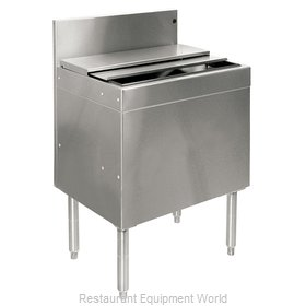 Glastender IBA-24-ED Underbar Ice Bin/Cocktail Unit