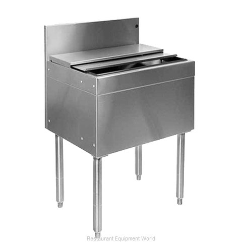 Glastender IBA-48-CP10 Underbar Ice Bin/Cocktail Unit