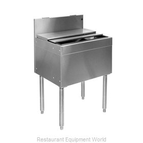 Glastender IBB-24-CP10 Underbar Ice Bin/Cocktail Unit