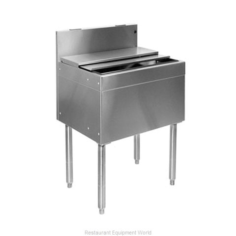 Glastender IBB-30-CP10 Underbar Ice Bin/Cocktail Unit