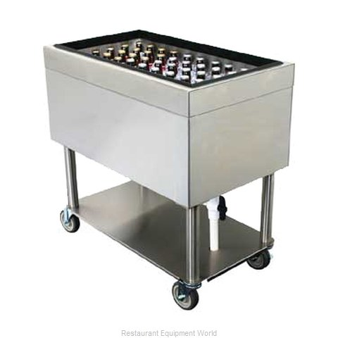 Glastender IBM-18X30 Underbar Beer Bin, Ice Cooled