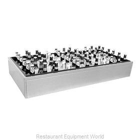 Glastender IDU-24X24 Ice Display, Bar