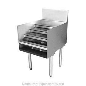 Glastender LDB-30S Underbar Bottle Display Unit